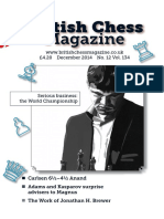 The British Chess Magazine Vol 134
