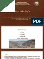 Mina y Geología