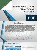 Ibi Citibank Fraud