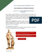 Resumes de Textos de Segunda Prueba de Historia Del Arte