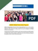 AIESEC DT Exchange Program Explanation