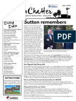 Sutton Chatter May 2018