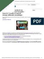 Creando La Aproximación de Un Canal de Drenaje a Un Terraplén _ Tutoriales Al Día CIVIL 3D