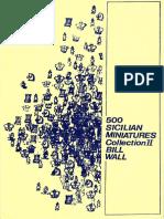 500 Sicilian Miniatures 1987 - Bill Wall
