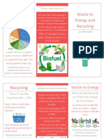 wte and recycling brochure