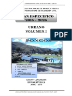 Plan Especifico - Pongos
