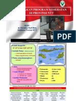 Pembangunan Kesehatan Di Provinsi Ntt by Kadinkes Ntt