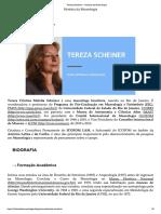 História Da Museologia - Tereza Scheiner