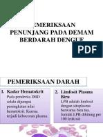 Pemeriksaan Penunjang Pada Demam Berdarah Dengue