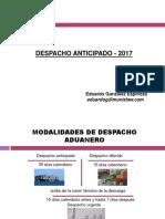 LXII Dcho Aduanero 2017