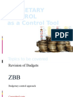 Budgetary Control Ppt