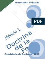 Doctrina de La Fe Modulo 1