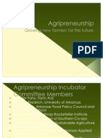 Agripreneurship