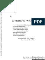 1 El Presidente Walker, Biblioteca Enrique Bolaños