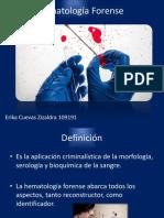 Hematólogia Forense