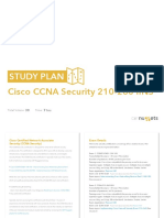Study Plan Cisco CCNA Security 210 260 IINS
