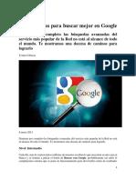 Tomás Cabacas - Doce Técnicas Para Buscar Mejor en Google - 2013