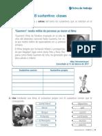 Ficha_Gramática_El Sustantivo_Clase