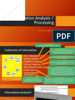 Interviewing & Data Analysis