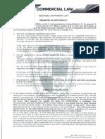 San Beda Commercial Law
