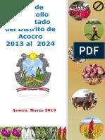 PDC ACOCRO 2013-2024