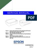 Epson Stylus NX130 TX130 TX133 TX135 SX130 Service Manual