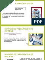 Normas de Preparacion de Informe