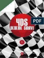 2015 YDS Deneme Sınavı&Kelime Listesi 5