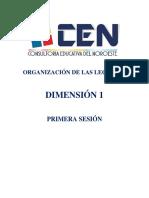 LECTURAS DIM 1 Primera Sesión_2018
