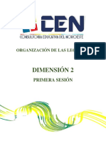 -LECTURAS DIM 2 Primera Sesión_2018