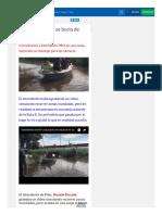 Intendente PRO Se Burla de Inundados