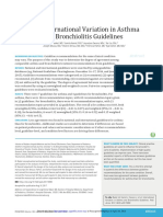 International Variation in Asthma and Bronchiolitis Guidelines