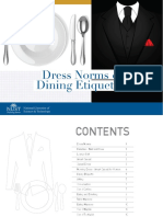 Dress Norms Dining Etiquette