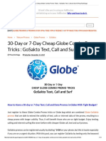 30-Day or 7-Day Cheap Globe Combo Promo Tricks _ GoSakto Text, Call and Surf _