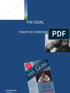 summary of the goal eliyahu m goldratt Last friday, i presented my synopsis of the business book classic, the goal: a  process of ongoing improvement by eliyahu m goldratt & jeff.