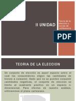 II UNIDAD-Teoría de La Elección y Curvas de Indiferencia