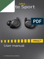 En Jabra Elite Sport User Manual RevF