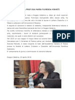 BIOGRAFIA Prof. Maria Florinda Minniti