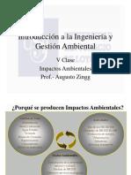 V Clase Impactos Ambientales 2015 (1)