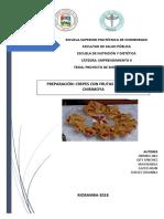 Informe Del Proyecto PREPARACIÓN