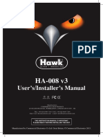 Hawk Ha008 Universal Central Lock Upgrade Manual