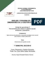 Análisis de Dimensiones de La GE