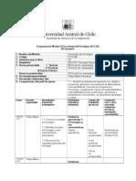 Programación Módulo III IOCC 246 Tecnología Del Hormigón