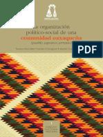 Mesri Hashemi-Dilmaghani Parastoo Anita & Gonzalez Guerrero Maribel (2014) La Organizacion Politico-social de Una Comunidad Oaxaquena (Pueblo Zapoteco Serrano)