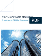 100 Percent Renewable Electricity