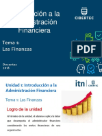 Tema 1- Las Finanzas