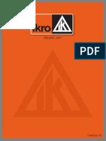 Catálogo Ikro 2017