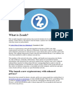 Blockchain   technology bitcoins or the zcash which is more important.docx