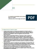 Perú 2010. La cobertura periodística en tiempo de elecciones