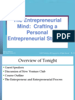 Lecture 1 - The Entrepreneurial Mind